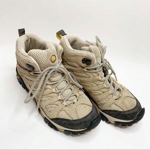 Merrill Women's Moab 2 Mid Hiking Boots Vibram 10